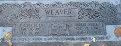 Robert Merle Weaver