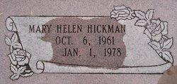 Mary Helen Hickman
