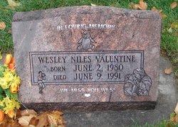 Wesley Niles Valentine