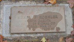 Henry F Koehler