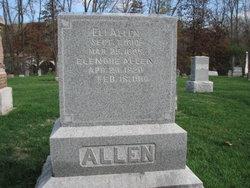 Eleanor Ellen <I>Jackman</I> Allen
