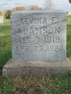 Levina F Adamson