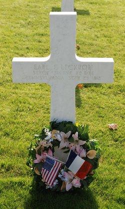 SGT Earl F. Leckron