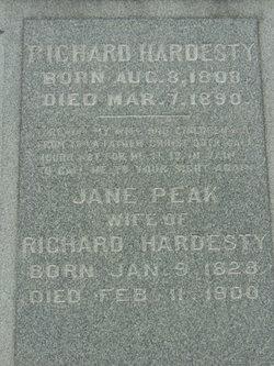Jane <I>Peak</I> Hardesty