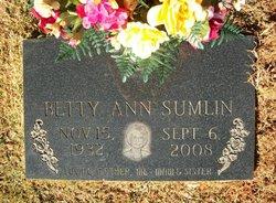 Betty Ann <I>Bolden</I> Sumlin