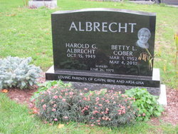 Betty Lucille <I>Cober</I> Albrecht
