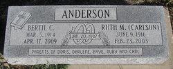 Ruth M. <I>Carlson</I> Anderson