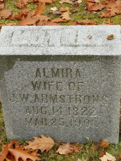 Almira <I>Walton</I> Armstrong