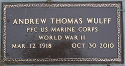 """Andrew Thomas """"Tommy"""" Wulff"""