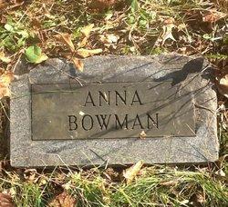 "Nancy Ann ""Anna"" <I>Ogden</I> Bowman"