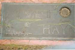 Thomas Andrew Haynie