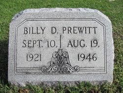 Billy Dean Prewitt