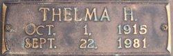 Thelma H Etier