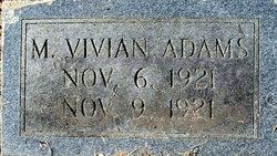 M. Vivian Adams