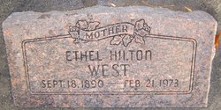 Ethel May <I>Hilton</I> West