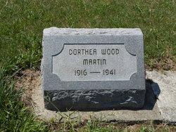 Dorthea V. <I>Wood</I> Martin