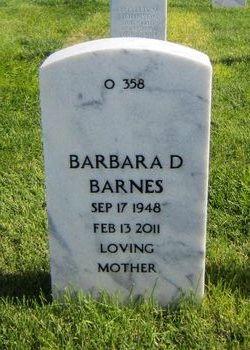 """Barbara D. """"Barb"""" <I>Meyer</I> Barnes"""