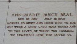 Ann Marie <I>Busch</I> Beal