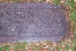 Martha Jane Robinson