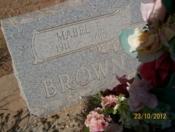 Mabel Esther <I>Magill</I> Brown