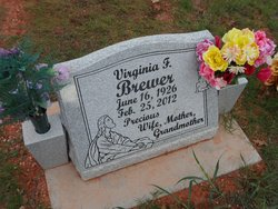 Virginia Florence <I>Alexander</I> Brewer