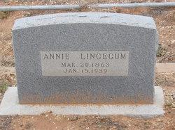 Annie <I>Smith</I> Lincecum