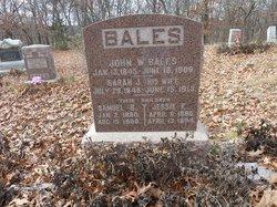 John W Bales