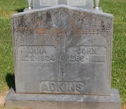 Mary Anna <I>Bishop</I> Adkins
