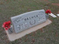 Rose Inez <I>Wren</I> Brewer