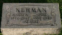 Jane <I>Henderson</I> Newman