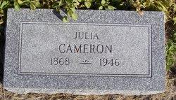 Julia Helen <I>Wills</I> Cameron