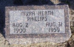 Myra Heath <I>Caster</I> Phillips