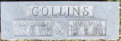 "Alexander R. ""Alex"" Collins"