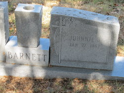 Johnnie <I>Bell</I> Barnett