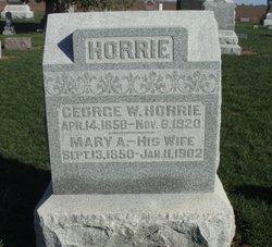 George Washington Horrie