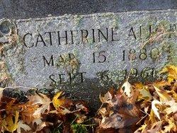 Catherine <I>Thill</I> Aller
