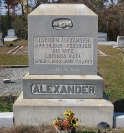 Lucinda Charlotte <I>Hall</I> Alexander