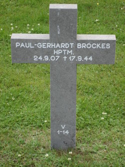 Capt Paul-Gerhardt Brockes