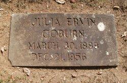 Julia <I>Erwin</I> Coburn