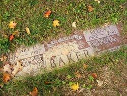 Ellen F. <I>Ackman</I> Baker