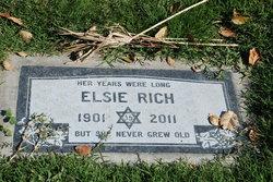 Elsie <I>Schiffman</I> Rich