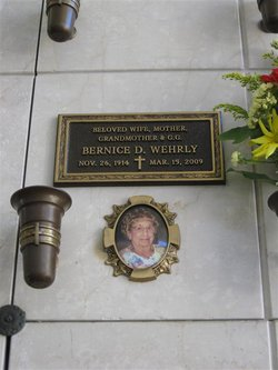 Bernice D. Wehrly