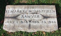 Elizabeth <I>Butterfield</I> Sawyer