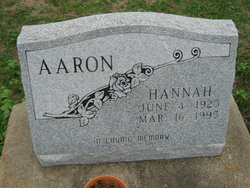 Hannah Aaron