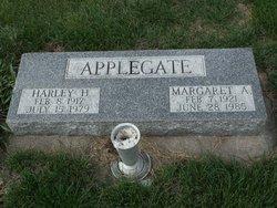Margaret Alice <I>Jorgensen</I> Applegate