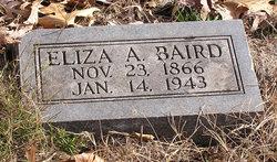 Eliza A. <I>McEvers</I> Baird