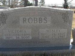Mary Victoria <I>Williams</I> Robbs