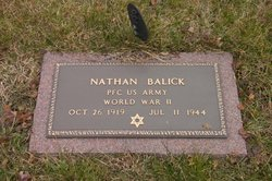PFC Nathan Balick