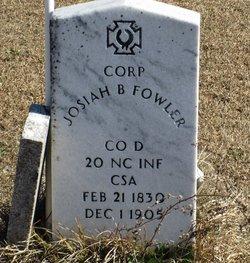 CORP Josiah Byrd Fowler