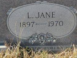 Lula Jane <I>Fowler</I> Sarvis